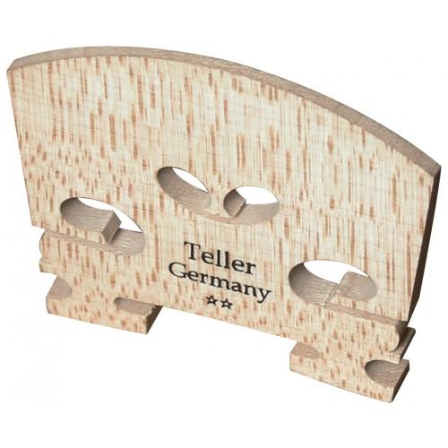 Violin Bridge - Teller Style Bridge. Uncut. 1/16 Size