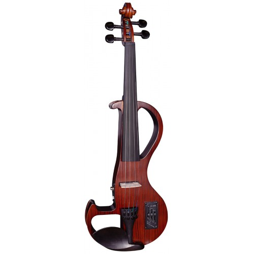 Electric Violin Outfit 4/4 - Zebrawood Finish