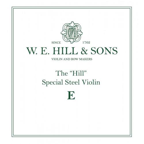 Hill String Violin E. Ball End. Medium