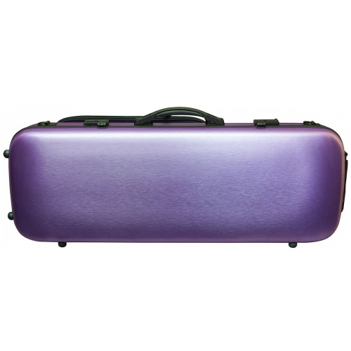 Viola Polycarbonate Oblong Case - Brushed Purple