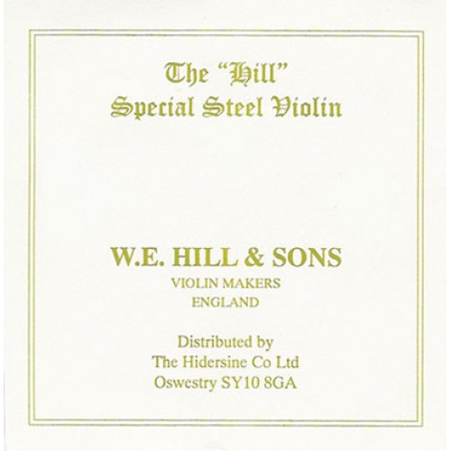 Hill String Violin E. Loop End. Strong