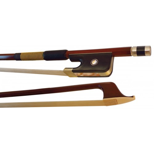 Double Bass Bow - Brazilwood - Octagonal 1/4