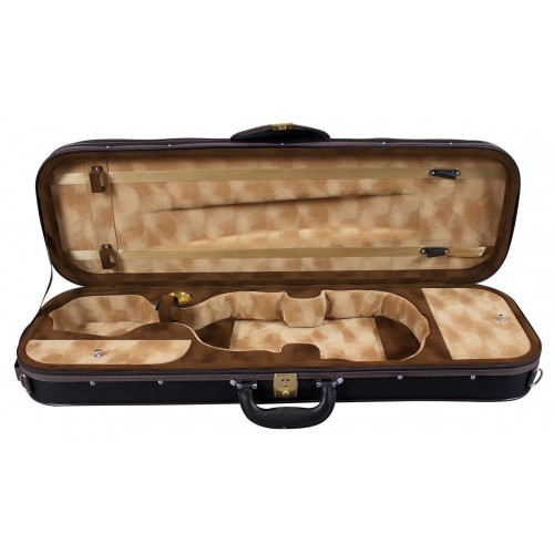 Violin Pianura Black Oblong Case 4/4