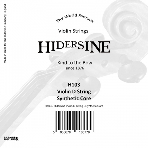 Violin D String - Synthetic Core 4/4