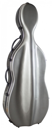 Cello Case - Fibreglass Grey