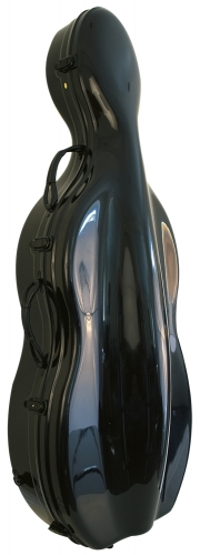Cello Case - ABS Black
