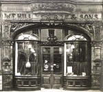 W E Hill & Sons - Shopfront in New Bond Street, London. Early 20th Century