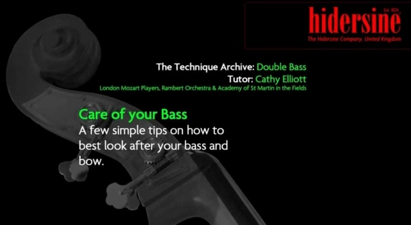 Care for your Bass