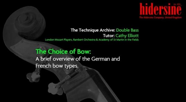 The Choice of Bow