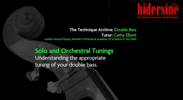 Solo and Orchestral Tunings